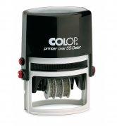 Colop Printer Oval 55 Dateur 1 à 6 lignes