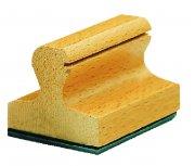 Tampon bois grand format de 1 à 12 lignes